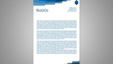 Email Letterhead Templates