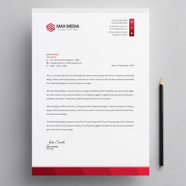 Company Letterhead Download