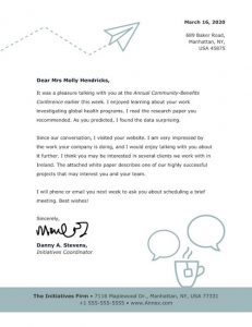 Official Letterhead Templates 05