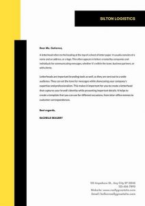 Official Letterhead Templates 06