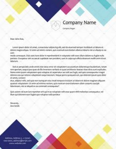 Official Letterhead Templates 09