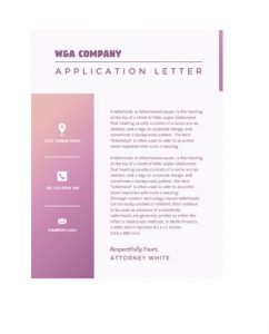 Official Letterhead Templates 15