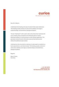 Official Letterhead Templates