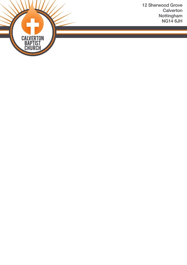 church letterhead template 08
