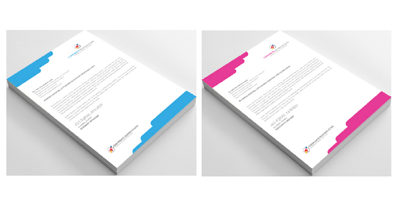 letterhead template psd free download