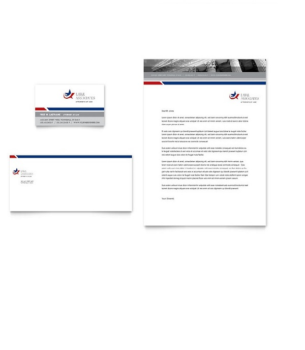 Law Firm Microsoft office letterhead templates