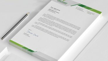 Letterhead Design Free Download