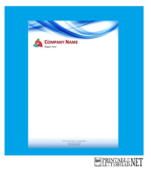 letterhead Examples design free download