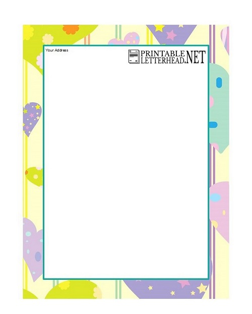 Company letterhead template word 2007 free