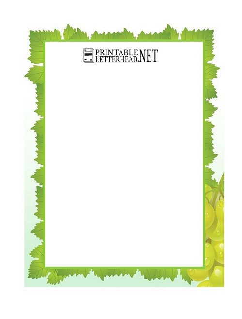 Company letterhead template word 2007 download
