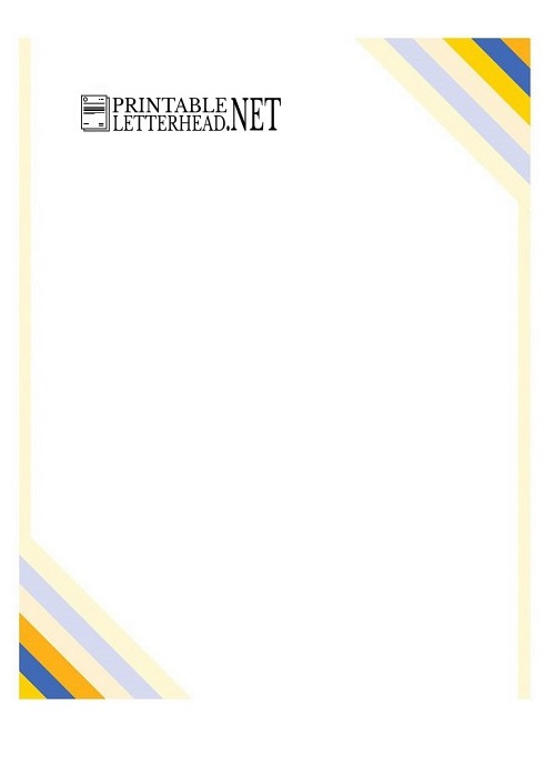 Sample Company Letterhead Template Word 2007