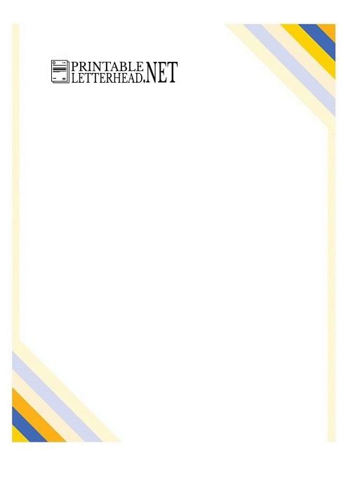 Sample Company Letterhead Template Word 2007