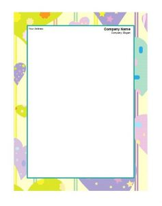 Business Letterhead Template 17