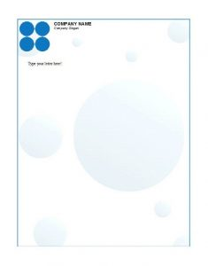 Business Letterhead Template 27