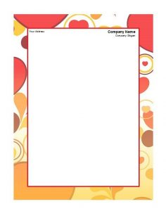Business Letterhead Template 31