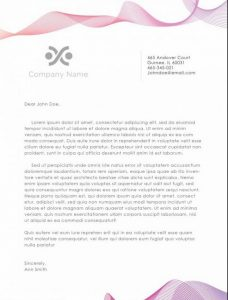 Business Letterhead Template 37