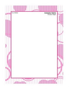 Company Letterhead Sample 16