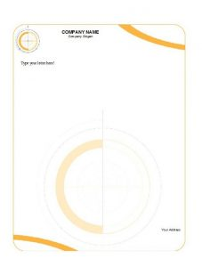 Company Letterhead Sample 18
