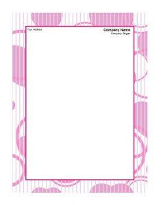 Printable Letterhead 01