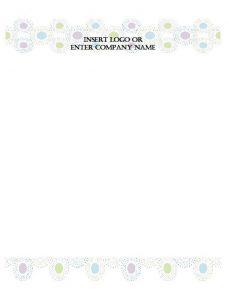 Printable Letterhead 15