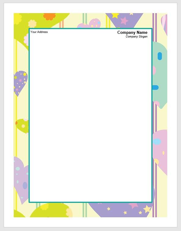 company letterhead free