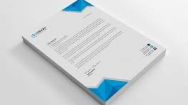 Printable Company letterhead template word 2007