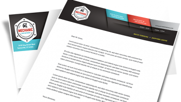 business letterhead creator software