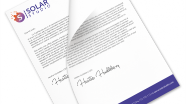 official letterhead format