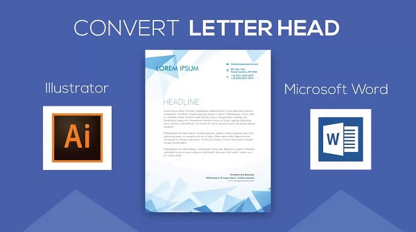 4 Programs Of The Letterhead Design Software Free Download Printable Letterhead