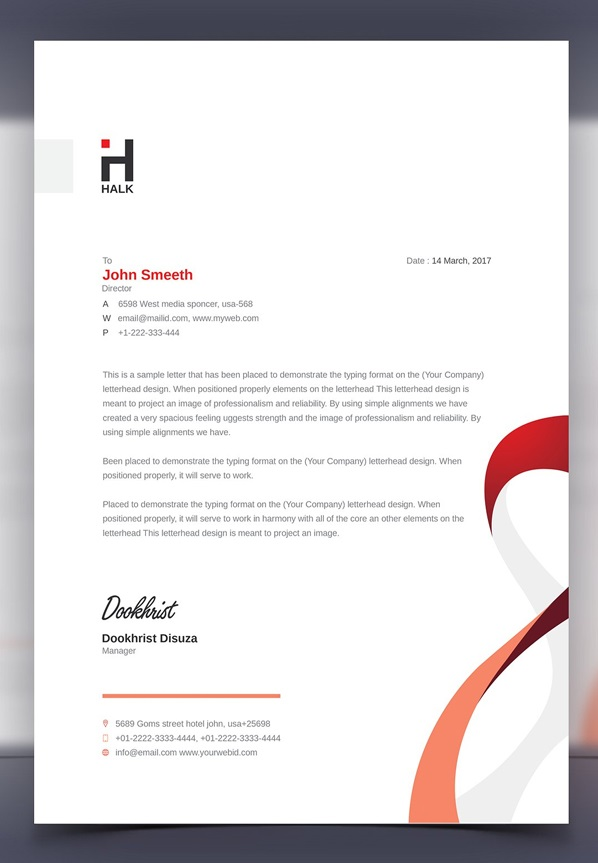 Best Letterhead Design Stationery