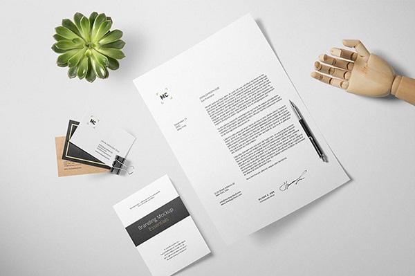 Best Letterhead Design mockups