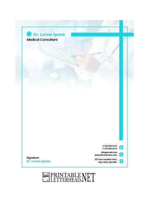 Doctor Letterhead Design Free Download