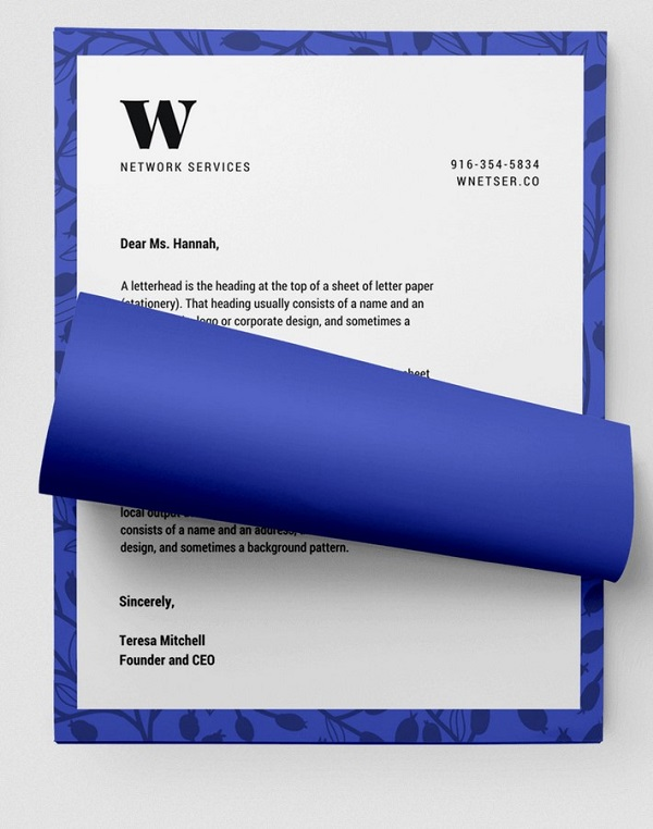 Free Business Letterhead Templates 01