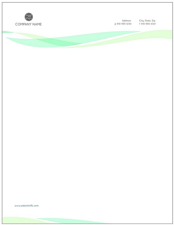 Free Business Letterhead Templates 04