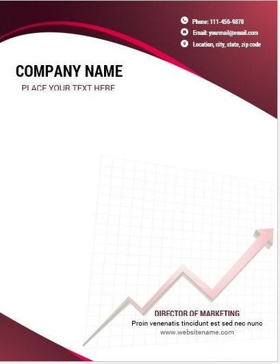 Letterhead Examples With Logo 02