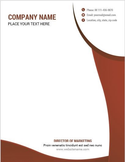 Letterhead Examples With Logo 08