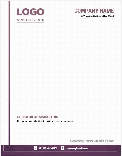 Letterhead Examples With Logo 09