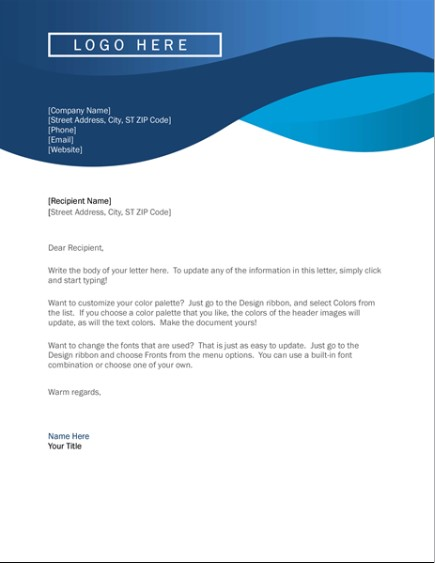 Letterhead Examples With Logo 12