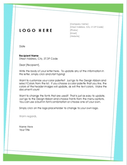 Letterhead Examples With Logo 13