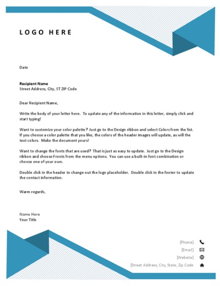 Letterhead Examples With Logo 14