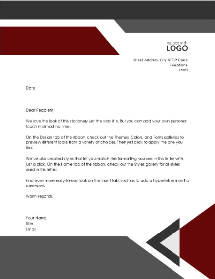 Letterhead Examples With Logo 18