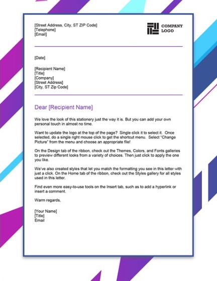 Letterhead Examples With Logo 19