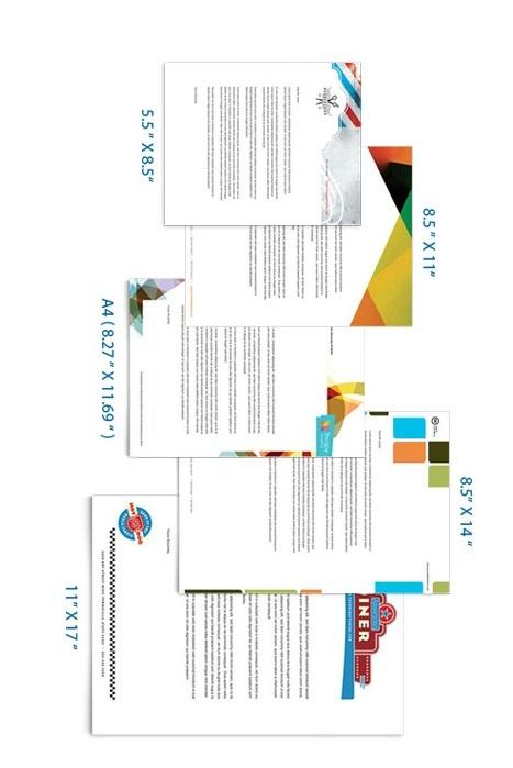 Letterhead Paper Size 01