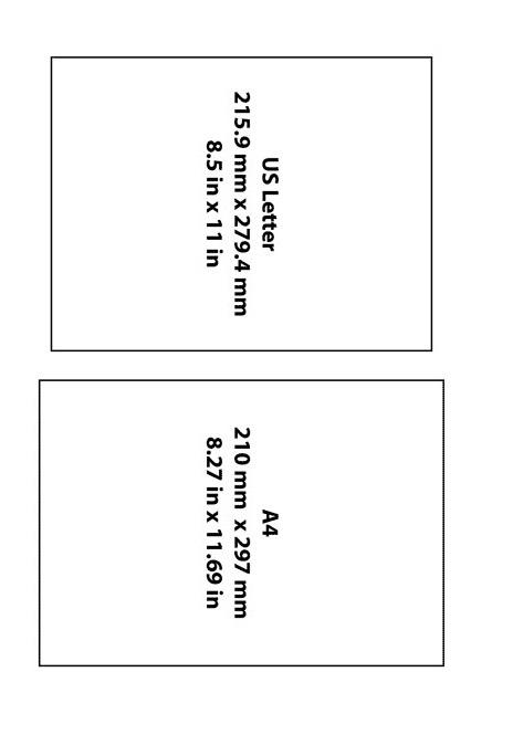 Letterhead Paper Size 04