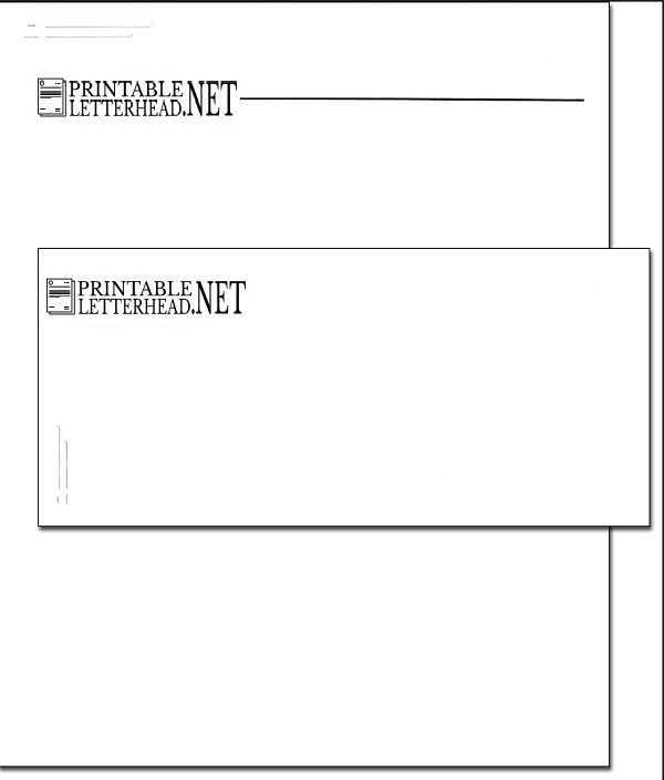 Letterhead and envelope printing 01