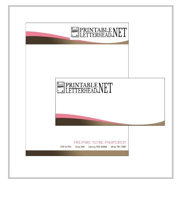 Letterhead and envelope printing 02