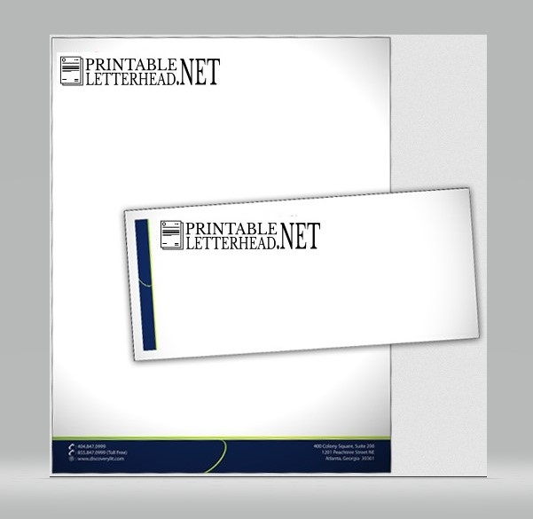 Letterhead and envelope printing 03