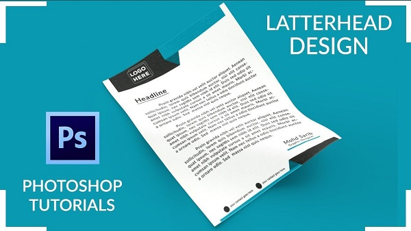 Adobe Photoshop Letterhead Design Software Free Download