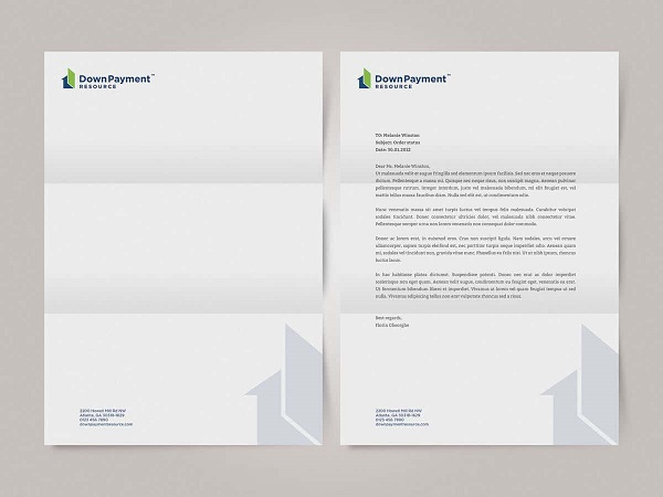 Real Estate Best Letterhead Design