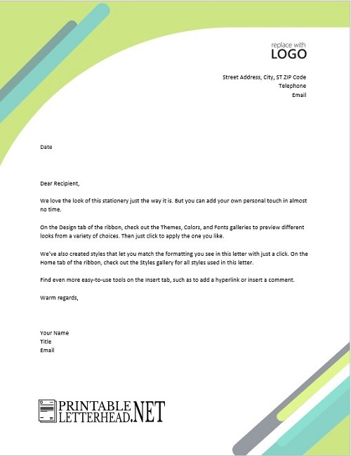 What is a Business Letterhead 01